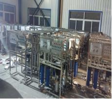 0.75m³/h纯水设备(单级)