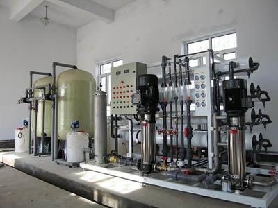 6m³/h纯水设备(双级)