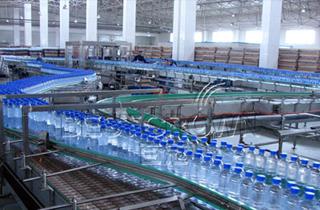 瓶装生产线
