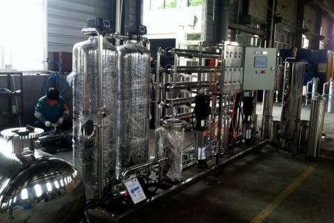 1m³/h纯水设备(双级)