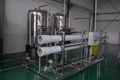 10m³/h纯水设备(单级)