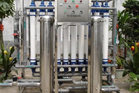 20000瓶/时超滤设备