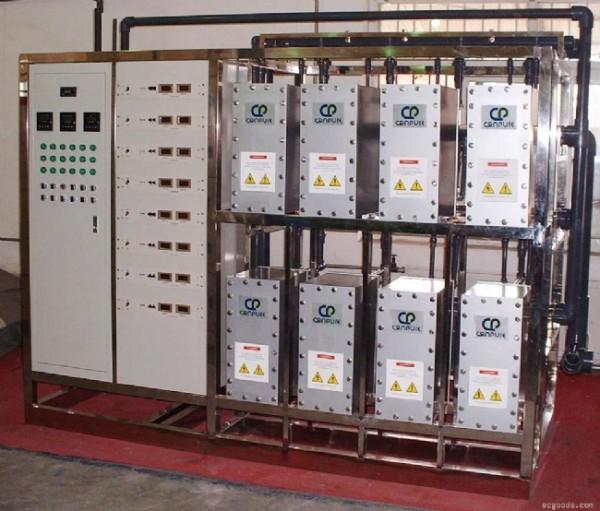 20m³纯水设备(EDI)