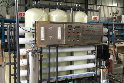 3m³/h纯水设备(单级)