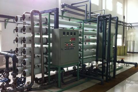 60m³/h纯水设备(单级)