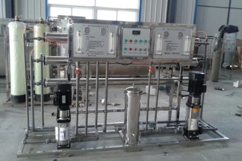 0.5m³/h纯水设备(双级)